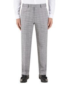 Keenan Suit Tapered Trouser Silver / Grey Check
