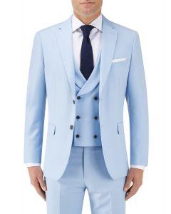 Sultano Suit Slim Jacket Sky Blue