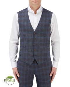 Suddard Suit Waistcoat Charcoal Check