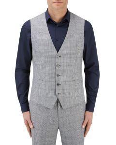 Anello Suit SB Waistcoat Grey Check