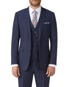 Harcourt Slim Suit Jacket Navy