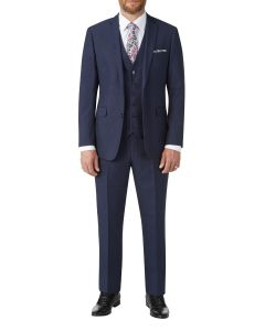 Harcourt Slim Suit Navy