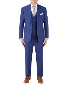 Aquino Suit Blue Check
