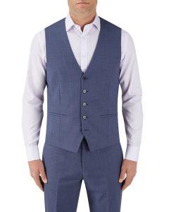 Crown Suit Waistcoat Blue