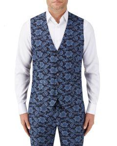 Morrissey Suit Waistcoat Navy