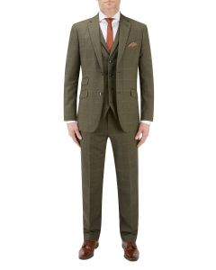 Bramwell Suit Lovat Check