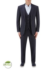 McDonald Suit Blue Stripe
