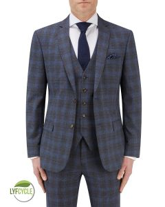 Suddard Suit Jacket Charcoal Check
