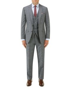 Tudhope Tailored Suit Blue Check
