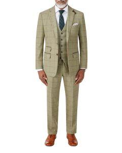 Arden Suit Sage Check