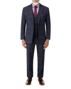 Kinver Suit Navy Check