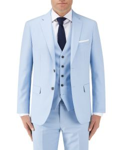 Sultano Suit Tailored Jacket Sky Blue