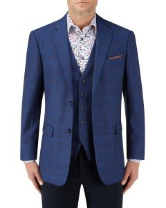 Pashley Jacket Blue Windowpane Check