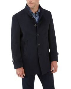 Ladbroke Overcoat Navy