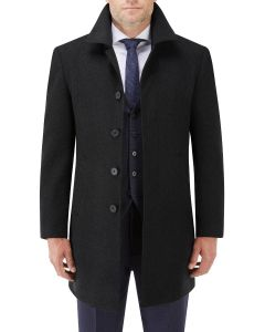 Aldgate Overcoat Black