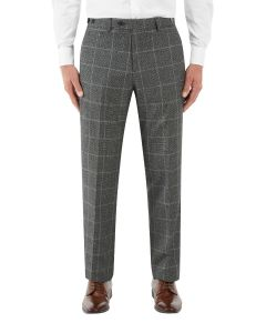 Tudhope Suit Tailored Trouser Charcoal Check