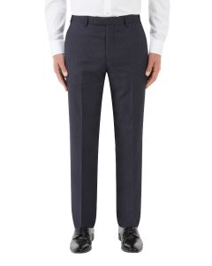Mac Suit Tapered Trouser Navy / Grey Check