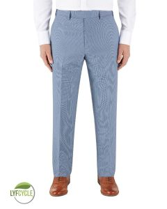 Pepe Suit Tailored Trouser Blue Check