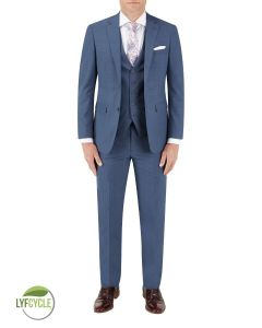 Morelli Suit Blue Check