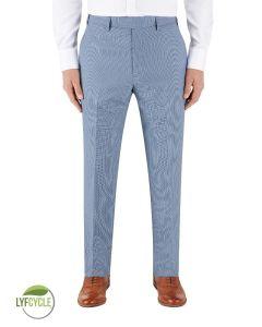 Pepe Suit Slim Trouser Blue Check