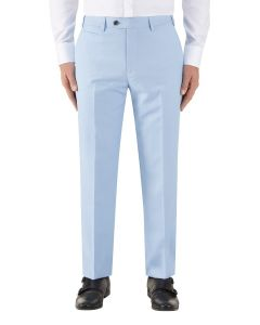 Sultano Suit Tailored Trouser Sky Blue