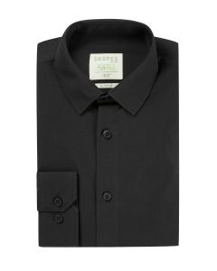 Lyfcycle Slim Formal Shirt Black