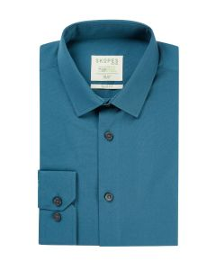 Lyfcycle Slim Formal Shirt Teal