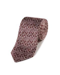 Bronze Pink Textured Silk Tie