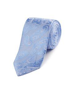 Blue Paisley Fancy Tie
