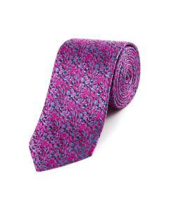Pink / Blue Fancy Silk Tie