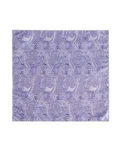 Lilac Paisley Pocket Square