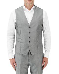 Guetta Suit Waistcoat Silver