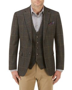 Hanagan Jacket Green Check