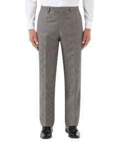 Callan Suit Trouser Grey / Red Puppytooth