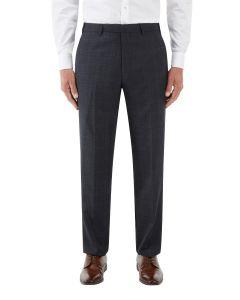 Momoa Suit Trouser Navy Check