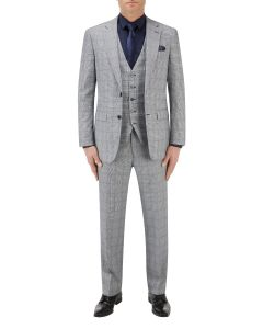 Anello Suit Grey Check