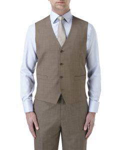 Palmer Suit Waistcoat Light Brown