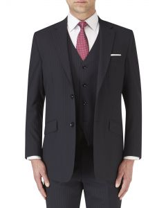 Darwin Suit Jacket Navy Stripe