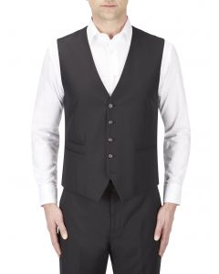Joss Suit Waistcoat Black