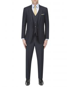 Chepstow Suit Navy Stripe