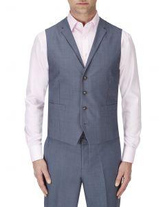 Egan Suit Waistcoat Ice Blue