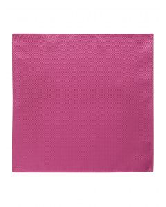Fuschia Textured Pocket Square