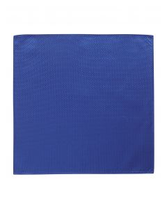 Royal Blue Textured Pocket Square
