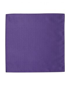 Purple Textured Pocket Square