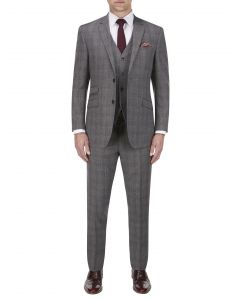 Arnside Suit Grey Check