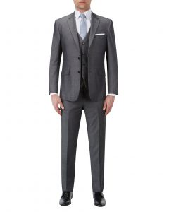 Redford Tailored Suit Grey