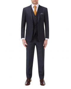 Aintree Suit Navy Check