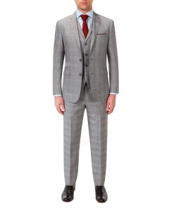 Aintree Suit Grey Check