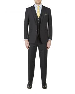 Prenton Suit Anthracite Stripe