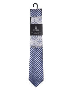 Silk Tie And Pocket Square